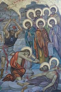Το Μαρτύριο των Αγίων Δέκα