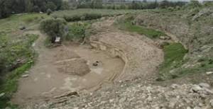 Το υπο ανασκαφή Μεγάλο Θέατρο